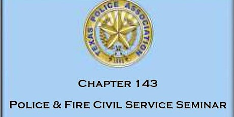 2021 Police and Fire Civil Service Seminar tickets