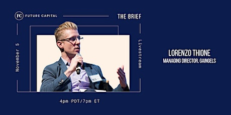 The Brief with Lorenzo Thione tickets