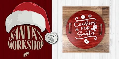 Santa's Workshop Sip & Create Cookie Trays tickets