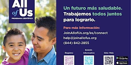 SESIÓN EN LÍNEA: Salud para todos. entradas