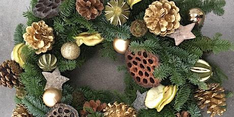 Festive Wreath Making & Wine Tasting tickets