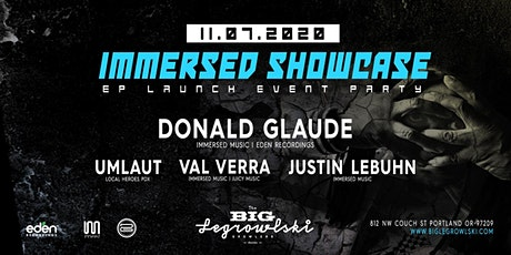 IMMERSED SHOWCASE DONALD GLAUDE tickets