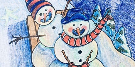 Snowmen at Night: Virtual Drawing Workshop with Library Arts tickets