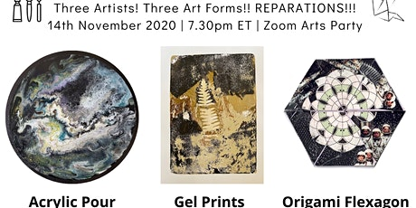 Zoom Arts Party-Art for Reparations tickets