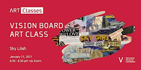 Vision Board Art Class tickets