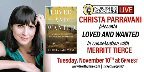 "Northshire Live: Christa Parravani presents ""Loved and Wanted"" tickets"