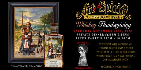 Art of the Spirits Whiskey Thanksgiving tickets