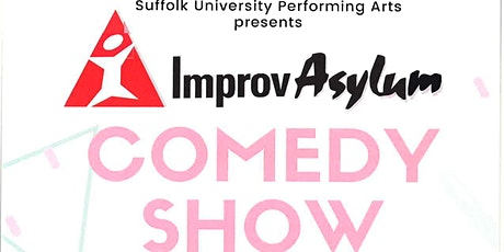 IMPROV ASYLUM and Suffolk's WHO'S ASKIN'? LIVE at Suffolk University tickets