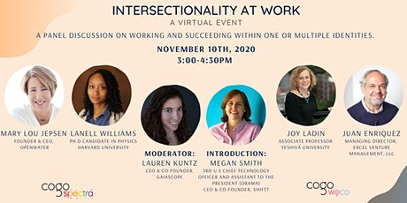 Intersectionality At Work; a Panel Discussion by Cogo Labs tickets