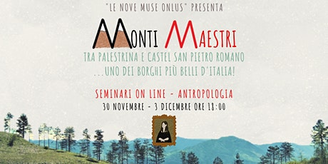 """#MONTIMAESTRI """"Tra santa Rosalia e san Rocco, storia di culti e devozioni"""" biglietti"""