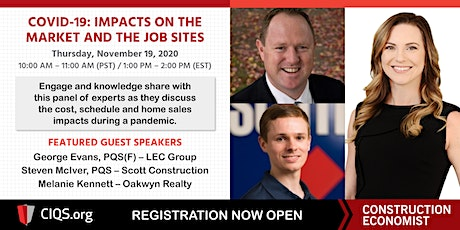 COVID-19: Impacts on the Market and the Job Site tickets