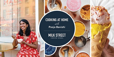 Cooking at Home with Pooja Bavishi: Valentine's Day Rose Chocolate Sundae tickets