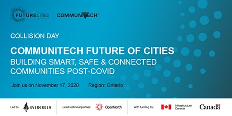 Communitech Collision Day: Building Smart, Safe, and Connected Communities tickets