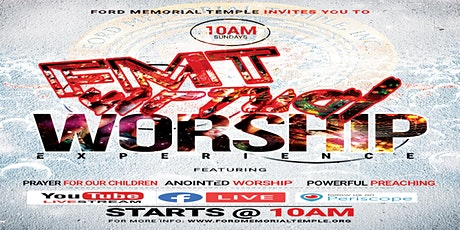 Sunday Morning Worship Experience at Ford Memorial Temple tickets