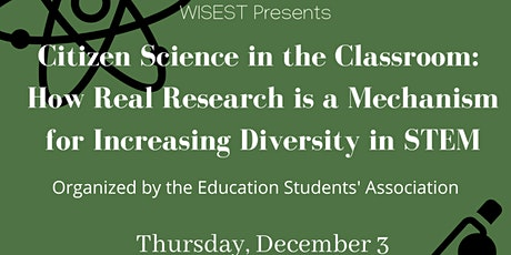 Citizen Science in the Classroom tickets
