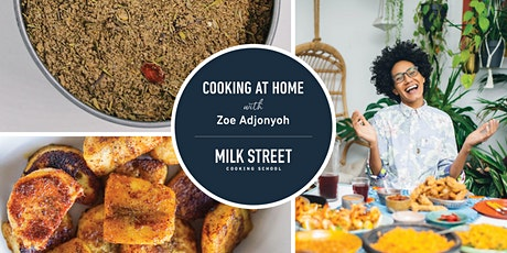 Cooking at Home with Zoe Adjonyoh: Ghanaian Jollof with Chicken tickets