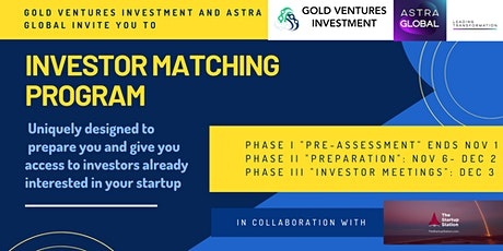 GVI Only - Investor Matching Program: Meet Investors Interested In You tickets
