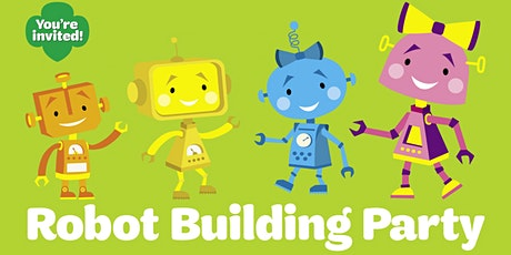 Robot building party! Virtual fun for girls in grades K-3! tickets