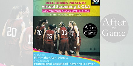 """After the Game"" Screening & Q&A- Nov 2020! tickets"