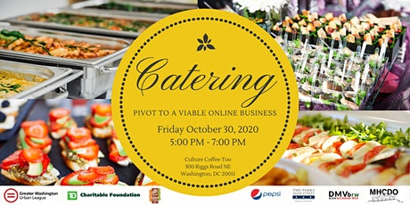 Catering: Pivot to a Viable Online Business tickets