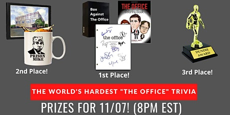 "World's Hardest ""The Office"" Themed Trivia tickets"