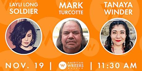 Layli Long Soldier, Mark Turcotte & Tanaya Winder tickets