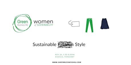 Women of Sustainability: Sustainable Style tickets