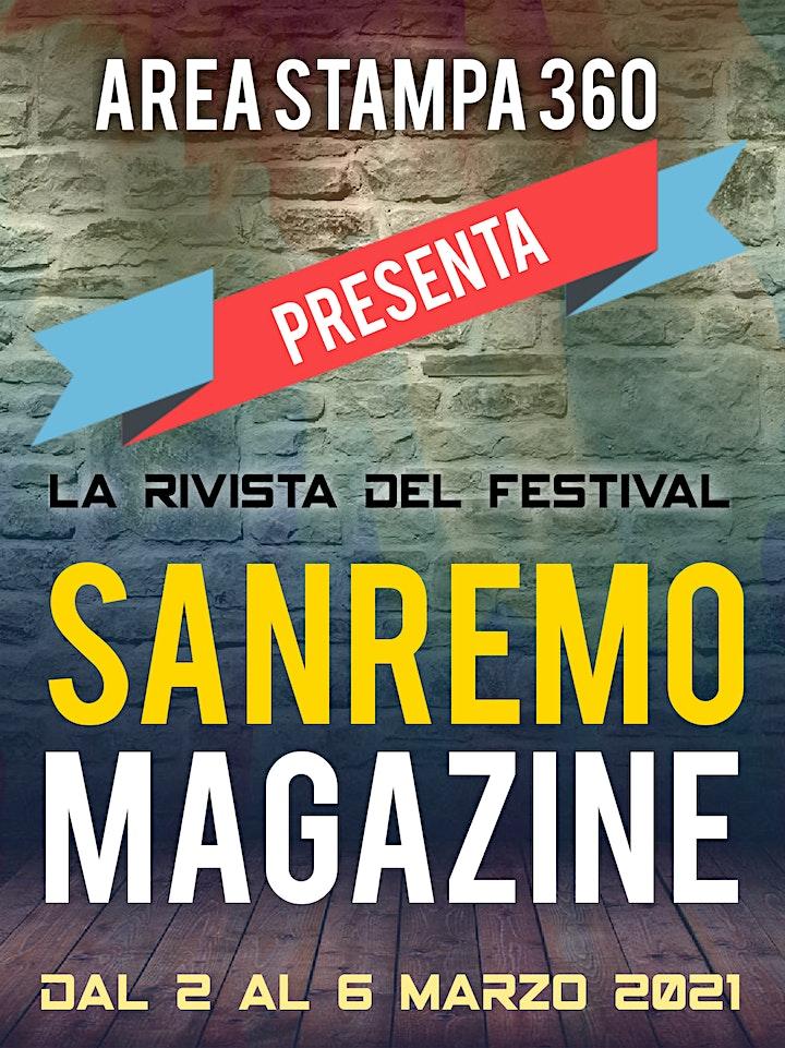 Immagine Sanremo Magazine by Antonio Cospito Press