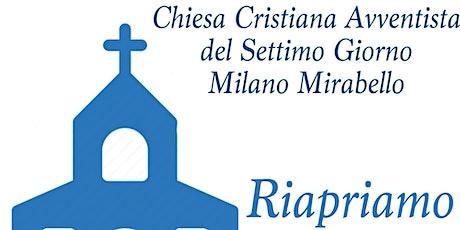 Sabato 31 Ottobre - Chiesa Cristiana Avventista Milano Mirabello biglietti