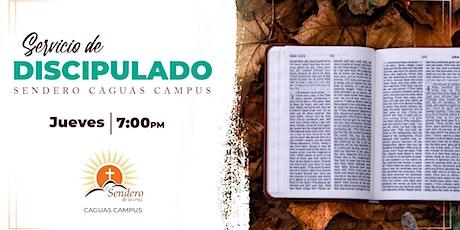 Discipulado Caguas Campus - Jueves 7:00 Octubre 29, 2020 tickets