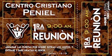1ra Reunión Peniel. tickets