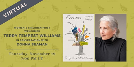 Virtual Author Reading: EROSION by Terry Tempest Williams tickets