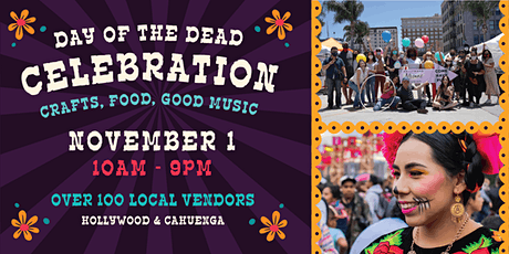Day of the Dead Celebration @ Hollywood Artisans Market tickets