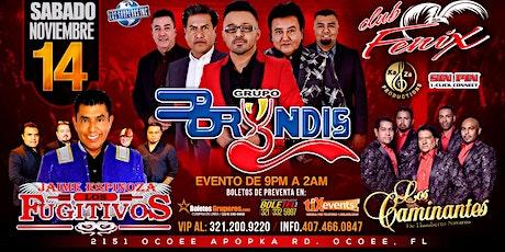 GRUPO BRYNDIS LOS FUGITIVOS LOS CAMINANTES HN tickets