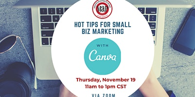 Marketing Tips & Tricks with CANVA