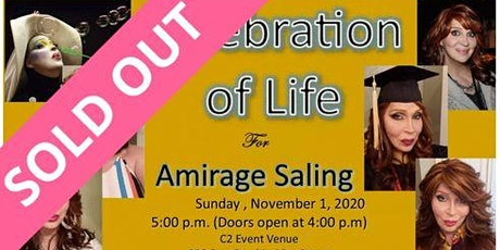 Celebration of Life for Amirage tickets