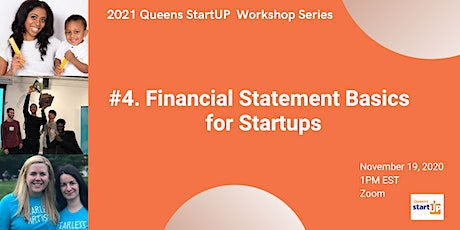 Financial Statement Basics for Startups tickets