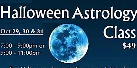 Halloween Astrology Class tickets