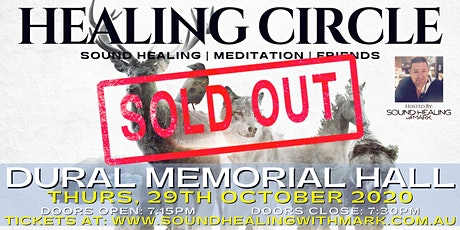 Healing Circle: Sound Healing with Mark   All Welcome (Dural Memorial Hall) tickets