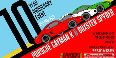 Porsche Cayman R & 987 Spyder Exclusive Petrolheadonism Meet tickets