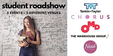 AUCKLAND: HR Student Roadshow: The Warehouse Group - STUDENT EVENT tickets