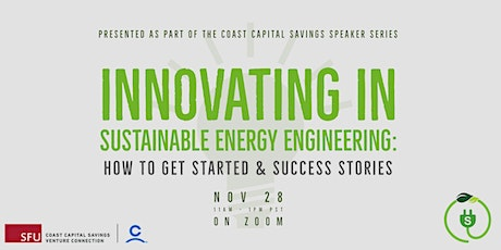 Innovating in Sustainable Energy Engineering tickets