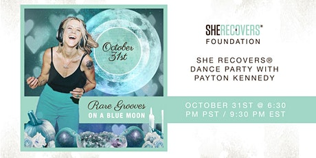 RARE GROOVES ON A BLUE MOON | A Special SHE RECOVERS® Dance Party! tickets
