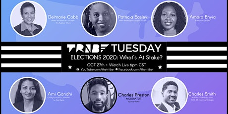 TRiiBE Tuesday: Election 2020 — What's at stake? tickets