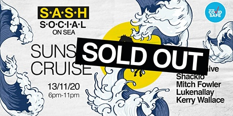 ★ S*A*S*H Social ★ On Sea ★ Sunset Cruise ★ tickets