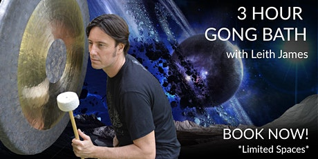 3 Hour Gong Bath Christmas Special - Burleigh Heads tickets