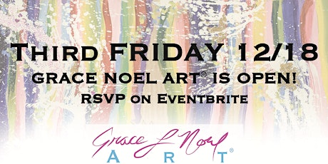 12/18 Third Friday: Grace Noel Art Maternity Fundraiser | Grace Noel Art tickets