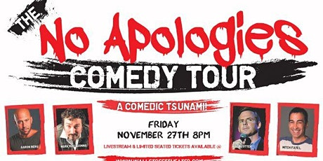 NO APOLOGIES COMEDY TOUR tickets