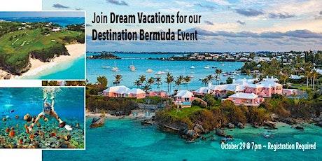 Virtual Vacation to Bermuda! tickets