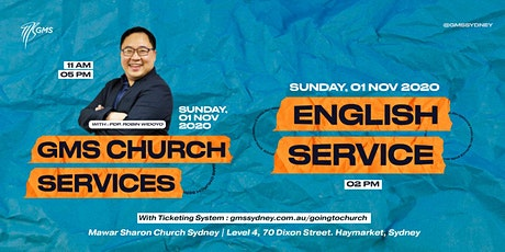 Special English Live Service @ 2pm -1 November 2020 tickets
